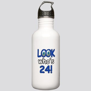 Look who's 24 Stainless Water Bottle 1.0L