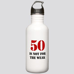 50th Birthday Gag Gift Stainless Water Bottle 1.0L