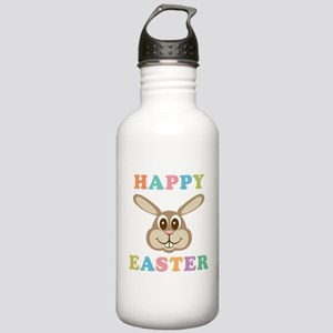 Happy Easter Bunny Stainless Water Bottle 1.0L