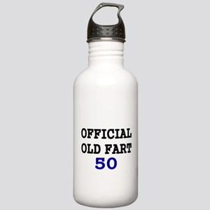 OFFICIAL OLD FART 50 Water Bottle