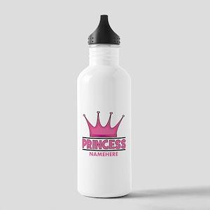 Custom Princess Stainless Water Bottle 1.0L