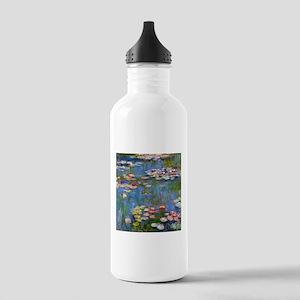 Monet Water lilies Water Bottle