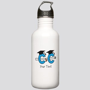 Customize Cross Country Grad Water Bottle