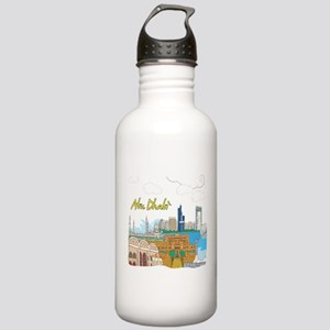 Abu Dhabi in the United Arab Emirates Water Bottle