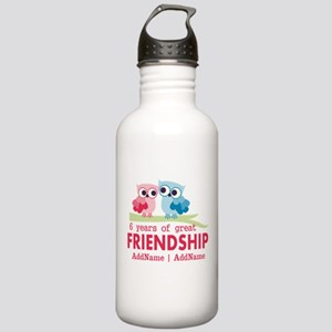 6th anniversary couple Stainless Water Bottle 1.0L