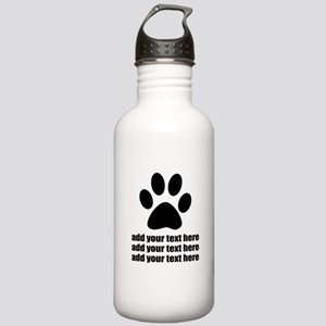 Dog's paw Stainless Water Bottle 1.0L