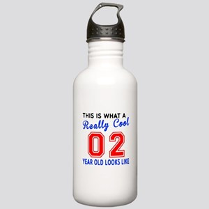 Really Cool 02 Birthda Stainless Water Bottle 1.0L