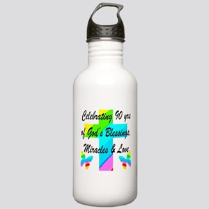 90 YR OLD BLESSING Stainless Water Bottle 1.0L
