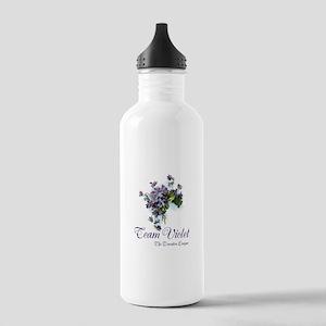 Team Violet Water Bottle