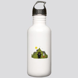 Grizzly Bear Camping Stainless Water Bottle 1.0L
