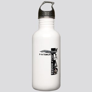 vf11logoC03 Stainless Water Bottle 1.0L