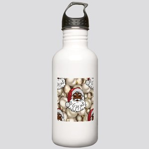 african santa claus Stainless Water Bottle 1.0L