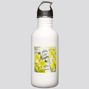 Vintage daffodils Stainless Water Bottle 1.0L