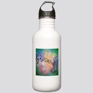 Abstract Music Stainless Water Bottle 1.0L