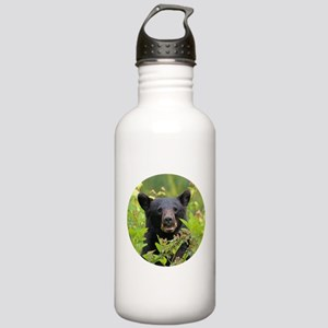 Bear Face Stainless Water Bottle 1.0L