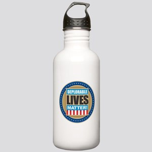 Deplorable Lives Matte Stainless Water Bottle 1.0L