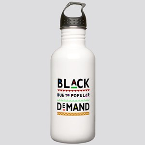 Afrocentric tee Stainless Water Bottle 1.0L