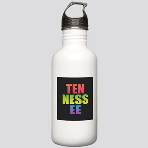 Tennessee Black Rainbo Stainless Water Bottle 1.0L