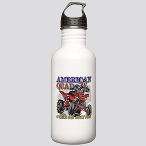 American Quad Stainless Water Bottle 1.0L