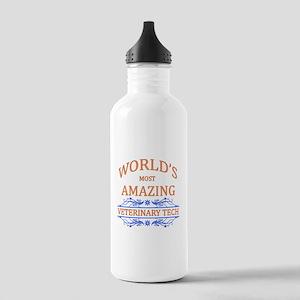 Veterinary Tech Stainless Water Bottle 1.0L