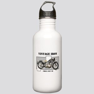 1927-28 Vintage Iron Stainless Water Bottle 1.0L