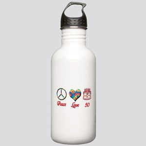 50th. Birthday Stainless Water Bottle 1.0L