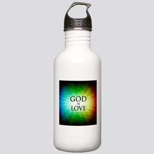 Love Is God Stainless Water Bottle 1.0L