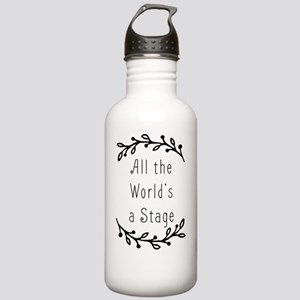 All the World's a Stag Stainless Water Bottle 1.0L