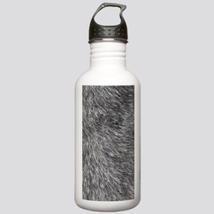 GREY WOLF FUR Stainless Water Bottle 1.0L