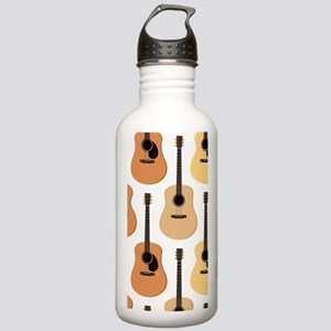 Acoustic Guitars Patte Stainless Water Bottle 1.0L