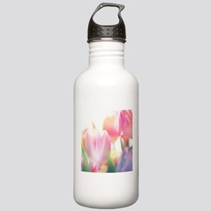 Beautiful Tulips Water Bottle