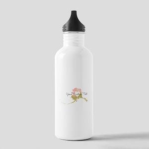 Personalized Alaska State Water Bottle