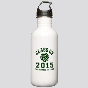 Class Of 2015 Volleyball Water Bottle
