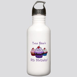 CUSTOM Your Names Nth Birthday! Cupcakes Water Bot
