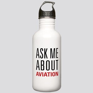 Aviation - Ask Me Abou Stainless Water Bottle 1.0L