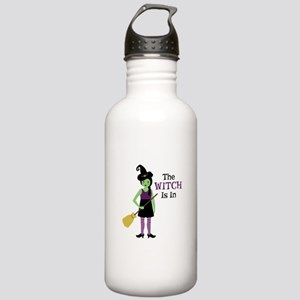 The Witch Is In Water Bottle