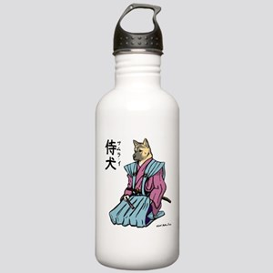 Samurai_shirt Water Bottle