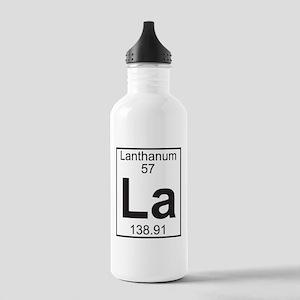 Element 057 - La (lanthanum) - Full Water Bottle