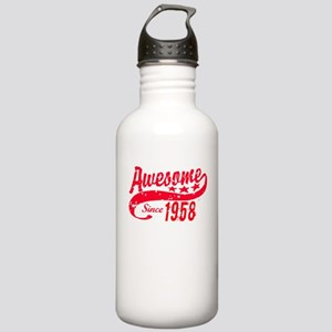 Awesome Since 1958 60 Stainless Water Bottle 1.0L