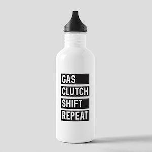 Gas Clutch Shift Repeat Water Bottle
