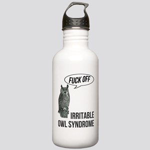 Irritable Owl Syndrome Stainless Water Bottle 1.0L