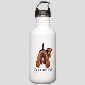 Airedale Terrier Talk Stainless Water Bottle 1.0L