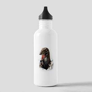 Velociraptor Dinosaur Stainless Water Bottle 1.0L