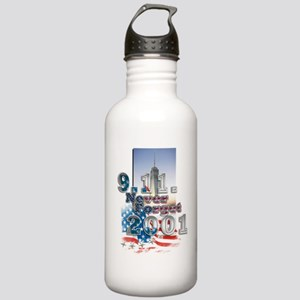 Never Forget: Stainless Water Bottle 1.0L