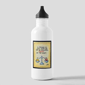 Best Friends / Sculpted Art Water Bottle