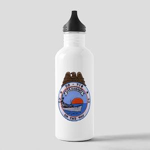 USS HAMNER Stainless Water Bottle 1.0L