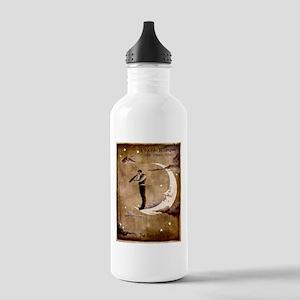 Psychic Wizardry, Man on the Moon Print Water Bott