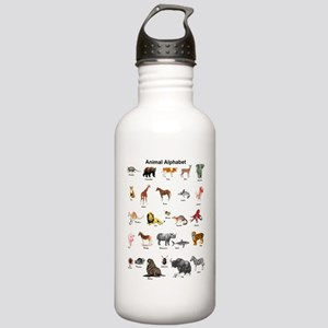 Animal pictures alphab Stainless Water Bottle 1.0L