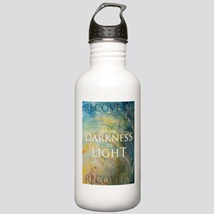 PSTR-from darkness to light Water Bottle