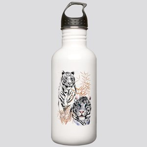 White Tigers Shirts Stainless Water Bottle 1.0L